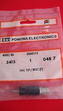 POMONA 3415 ADAPTER BNC FEMALE TO SINGLE PIN TIP PLUG