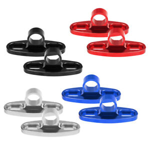 1Pair Motorcycle Racing Mirror Base Rearview Adapter  Block off Plates Cover Cap