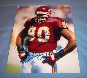 Kansas City Chiefs Neil Smith Signed Autographed 8x10 Photo HOF 2006 COA