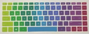 """Colorful Silicon Keyboard Cover Protective For HP Pavilion 14"""" Laptop"""