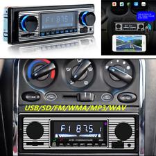 Vintage Car Radio Bluetooth Stereo Head Unit MP3/USB/AUX-IN/FM In-dash Player