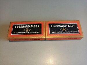 VINTAGE OLD EBERHARD FABER-JUWEL-EXTRA-HB-12 PCS in original box --ULTRA RARE
