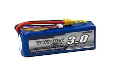 RC Turnigy 3000mAh 6S 40C Lipo Pack w/XT-60