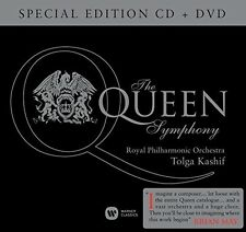 The QUEEN SYMPHONY-Special Edition in onore di Freddie Mercury-CD + DVD NUOVO