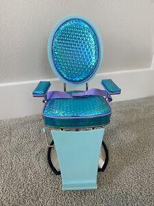American Girl Salon Chair and Bib