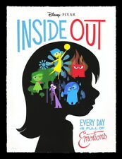 "013 Inside Out - Pixar Cute Catoon Movie 14""x18"" Poster"