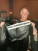 Signed FONZIE Faux Leather Jacket HENRY WINKLER The Fonz Autograph + Proof Photo