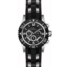INVICTA Mens 23696 Pro Diver Stainless Steel Chronograph WATCH w/ Hardshell Case