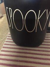 Rae Dunn Black Spooky Mug