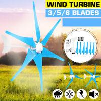 800W 12V Wind Turbine Generator 6 Blade Wind Generator Home Industry Power