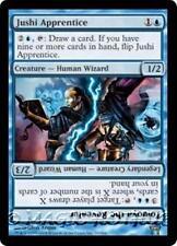 JUSHI APPRENTICE Champions of Kamigawa MTG Blue Creature — Human Wizard RARE
