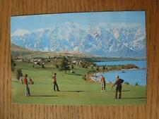 1900's-50's GOLF foto cartolina: in tutto il mondo-Queenstown Golf Club, verde 5th