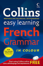Collins Easy Learning French Grammar - New Book