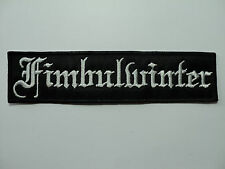 FIMBULWINTER EMBROIDERED PATCH