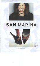 PUBLICITE 2012  SAN MARINA chaussures collection automne hiver 2012/2013