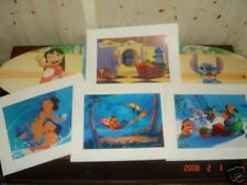the disney's lilo & stitch 4 lithograph portfolio set