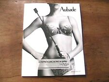 AUBADE 2012 FRENCH LINGERIE CATALOG - SEXY SENSUAL PICTURES - NEW FROM FRANCE