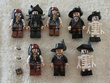 Awesome lot of Lego Pirates Of The Caribbean Mini Figures Legos Must See