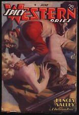 Spicy Western - June, 1938 - Original Pulp Magazine - NR