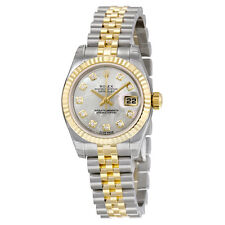 Rolex Lady Datejust Mother of Pearl Diamond Dial Two-Tone Jubilee Bracelet