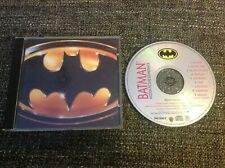 Batman Motion Picture Soundtrack CD Album 1989 - 9 Tracks Pop Rock, Synth-pop