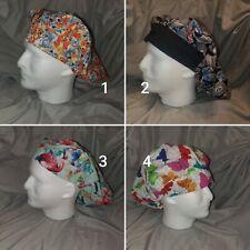 Bouffant Scrub Hats with 1/2 Elastic, 1/2 Comfort Band