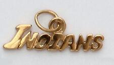 Cleveland Indians Baseball European Rhinestone Charm Bracelet Necklace Dangle