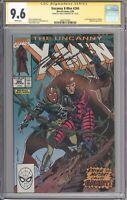 Uncanny X-Men #266 CGC 9.6 SS SIGNED Chris Claremont (Marvel 1990) 1st Gambit