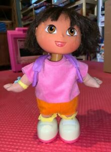 Dora the Explorer We Did It Dancing Dora Doll 2001 Fisher Price No. 90639 TESTED