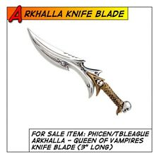 "Phicen/TBLeague Hot Arkhalla Vampire Queen Knife Blade for 1/6 12"" scale Toys"