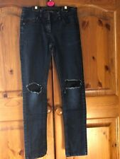 NEXT Dark blue Girl's Skinny Jeans,  Size 10 years old