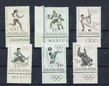 Postfrisch 1992 Olymp kompl.ausg. Albertv Winterspiele Jugoslawien 2523-2524