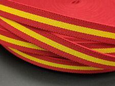 Cinta bandera España ELASTICA 1,5cm Española pulseras cordon tela elástico