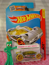 Case M/N 2015 i Hot Wheels IRIDIUM #163∞chrome;red oh5 yellow∞Race∞Super Chromes