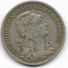 CAPE VERDE 1930 50 CENTAVOS COIN -VF CONDITION - BV$30