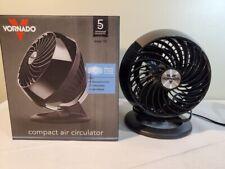 Vornado Model 160 Small Room Air Circulator Fan Black ~ Desk Fan ~ NEW