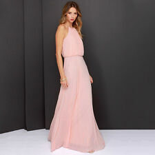 Womens Formal Long Chiffon Prom Evening Party Bridesmaid Wedding Maxi Dress Lot