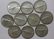 1967 Canadian dime set. This is a set of 10 Canada 10 cent coins