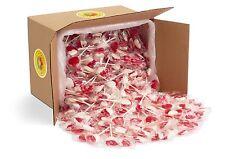 Candy Creek Sweet Heart Lollipops, Bulk 18lb Carton, About 470 Pops