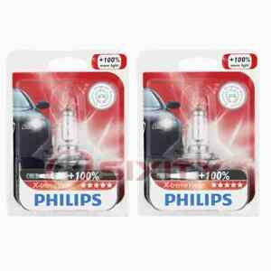 2 pc Philips Cornering Light Bulbs for Peugeot 207 207 Compact 2008-2014 rz