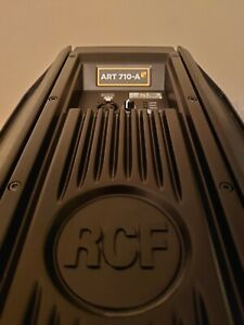 """RCF ART 710-A MK4 10"""" 1400W 2-Way Active Powered PA Speaker / Monitor"""