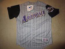 Arizona Diamondbacks 2001 MLB World Series Majestic Jersey LG L NEW