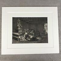 Picart Gravierung Religiös Ceremonies Deities Idol Gott 18th Century Original