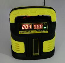 Portable 14A Truck Car Jump Starter Battery Charger Detector Protector 12V 24V