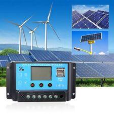 Solar Charge Controller Digital Display Solar Regulator 12/24V PWM TX-30BL #$