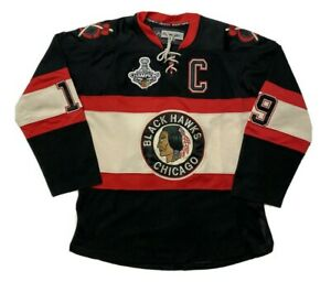Chicago Blackhawks Hockey Jersey CCM Reebok Size 48 Sewn 2010 Stanley Cup Champs