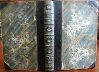 Dickens Old Curiosity Shop 1848 in old leather binding Cattermole illustration