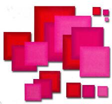 Presscut/Crafts Too Smaller Square Straight Edge Nesting Dies PCD72  18 PCS