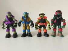 Teenage Mutant Ninja Turtles Action Figures Toys Set of 4 TMNT in Outfits