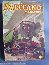 MECCANO DECEMBER 1949 GREAT CLOCK OF BRADFORD HAUNTED HOMES AND HIGHWAYS
